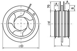 Ирисовые клапаны IRIS регулировки и измерения расхода воздуха