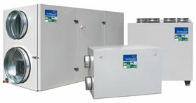 Вентиляционные установки KOMFOVENT KOMPAKT с теплоутилизатором